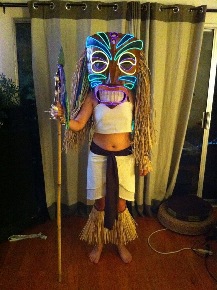 Do with glow rope????    Tiki Mask - costume by ~mesmithy on deviantART