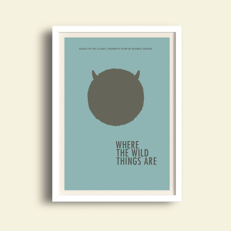 where the wild things are poster afiche pelicula