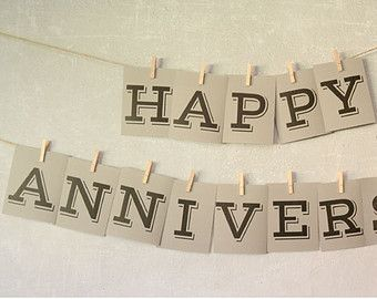 printable happy anniversary banner prints on 8 5 x 11 paper