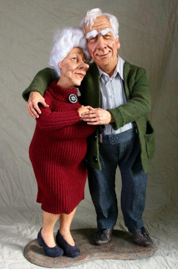 Смешные картинки бабушки или дедушки, для
