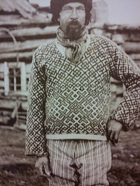 унский посад свитер