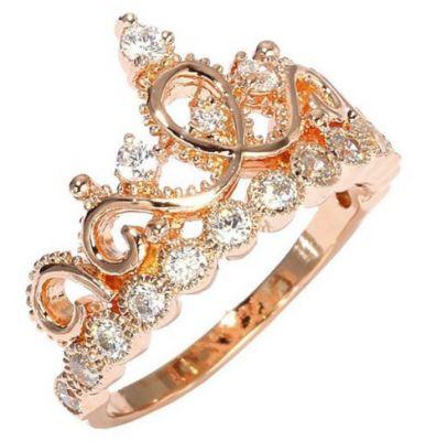 Princess Crown Promise Ring