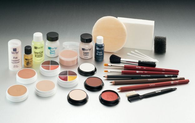 You probably still have your Ben Nye Makeup Kit. | 22 Signs You Were A Theatre Major