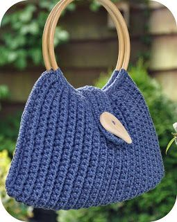 Crochet Bag - love the color!