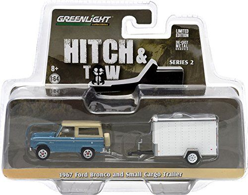 Best price on 1967 Ford Bronco Blue & Small Cargo Trailer Hitch & Tow Series 2 1/64 by Greenlight 32020B //   See details here: http://happykidstore.com/product/1967-ford-bronco-blue-small-cargo-trailer-hitch-tow-series-2-164-by-greenlight-32020b/ //  Truly a bargain for the inexpensive 1967 Ford Bronco Blue & Small Cargo Trailer Hitch & Tow Series 2 1/64 by Greenlight 32020B //  Check out at this low cost item, read buyers\' comments on 1967 Ford Bronco Blue & Small Cargo Trailer Hitch…