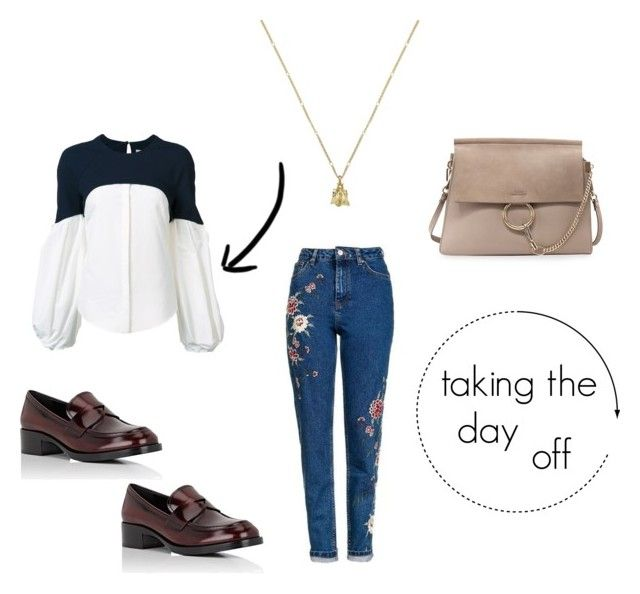 taking the day off by danesmit on Polyvore featuring Hellessy, Topshop, Prada, Chloé and Gucci