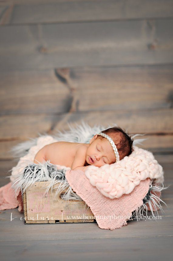 Rose Gold Metallic Leder geflochtene Vintage Heaband Neugeborenen Baby Kind Erwachsene Foto Prop Headwrap Beau