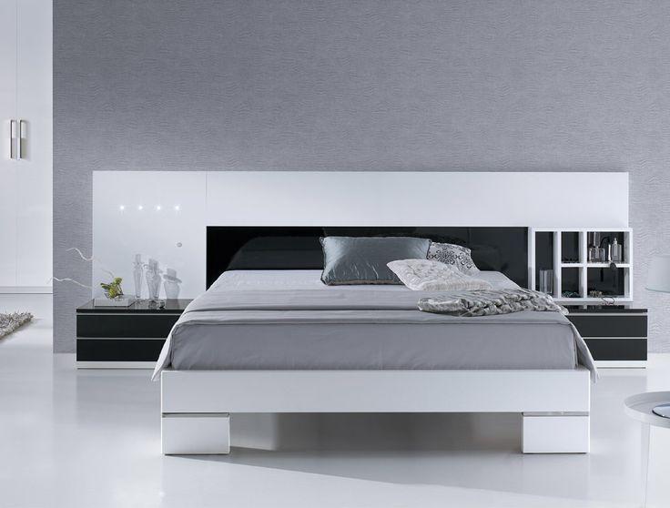Dormitorio moderno. Decoración del hogar