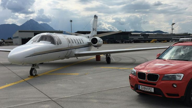 Zwischenfall in Salzburg: Sechs Flugpassagiere mit Rauchgasvergiftung - kurier.at