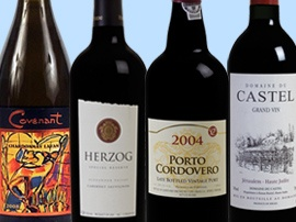 Kosher wine recommendations.