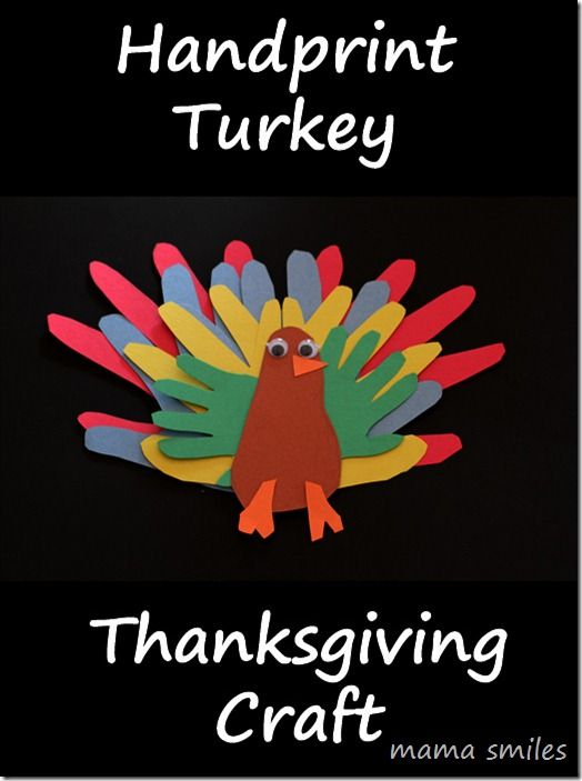 handprint turkey craft 1000 images about and easy kid crafts on 2154