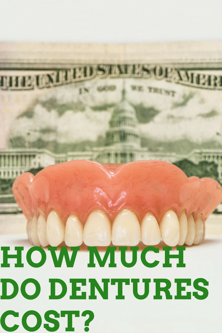 How much should you expect to pay for dentures in 2018