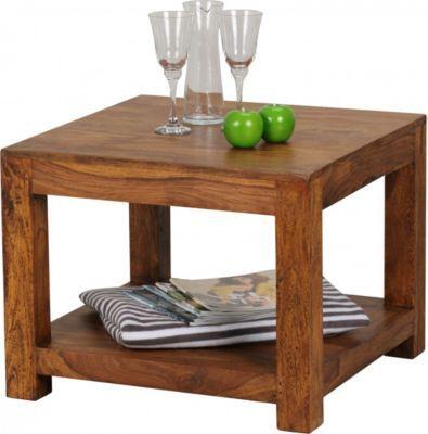 Wohnling WOHNLING Couchtisch MUMBAI Massiv Holz Sheesham 60 X Cm Wohnzimmer Tisch Design Dunkel Braun Landhaus Stil Beistelltisch Jetzt Bestellen Unter
