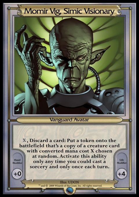 Other - Vanguard MTGO 2 - Momir Vig, Simic Visionary