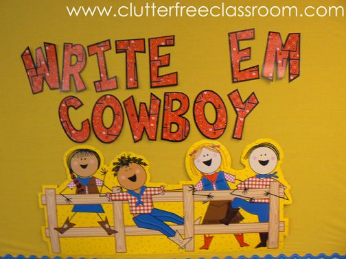 entire western theme for classroom... very possible i'm going this direction