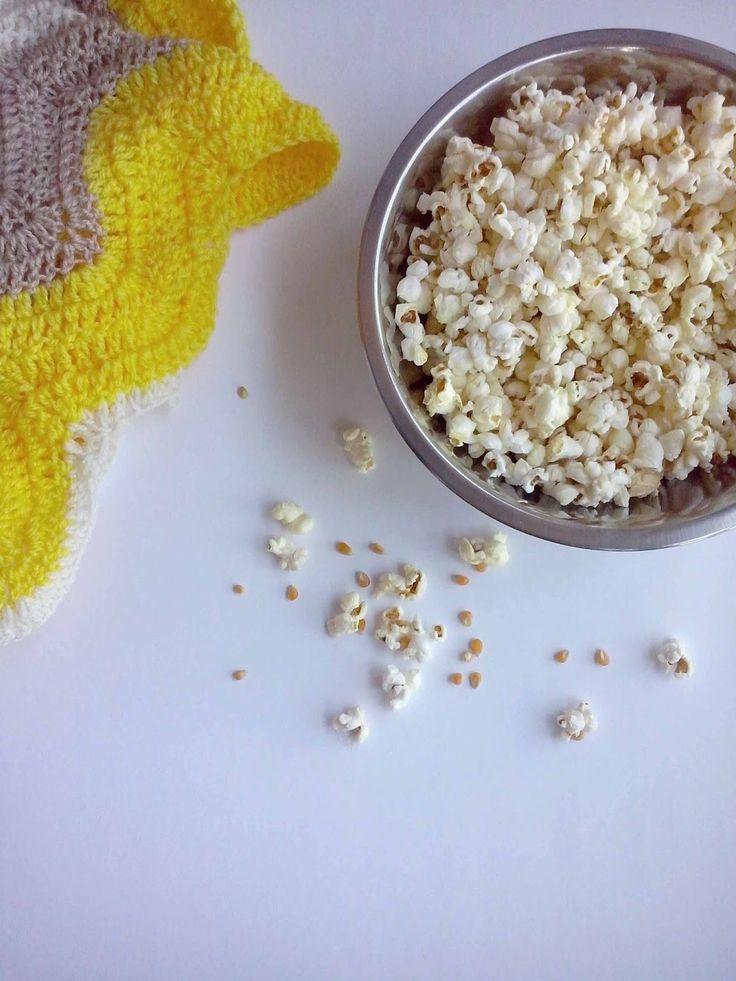 Palomitas de maíz caseras/ Popcorn homemade