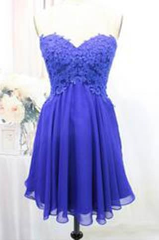 Tulle Lace Homecoming Dress,Royal Blue Fitted Homecoming Dress,Short Prom Dress uk PM904