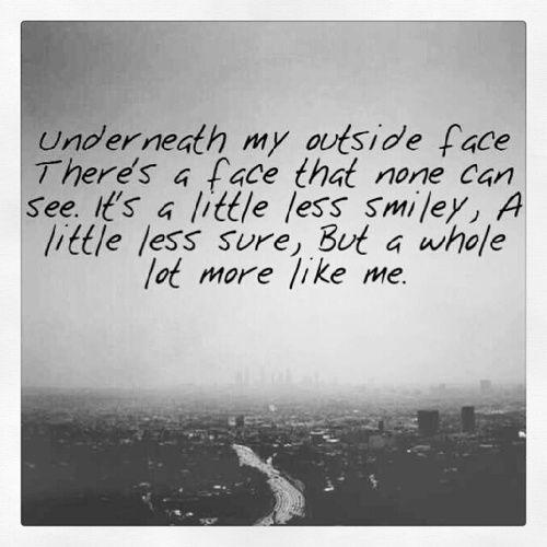 Under face - Shel Silverstein