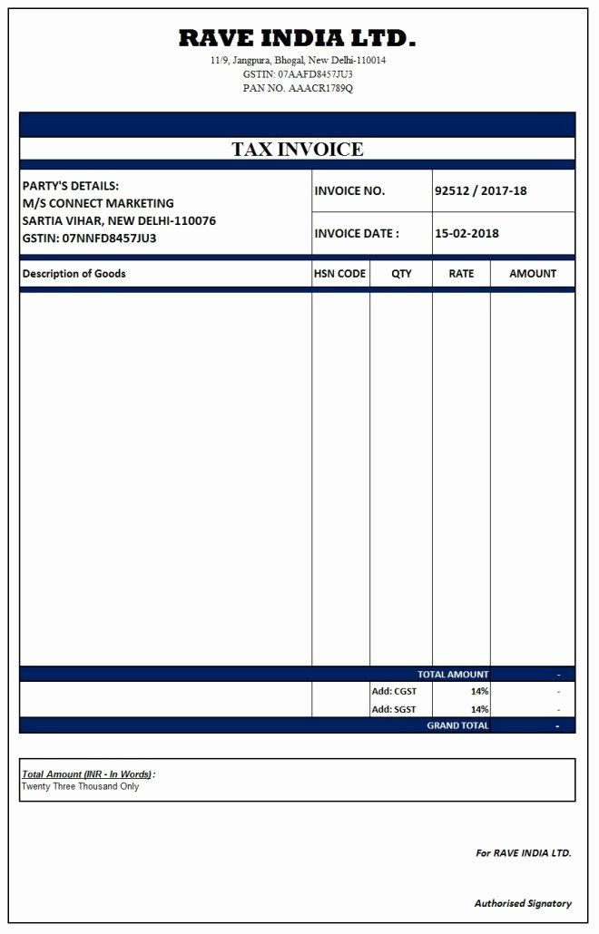 Fake Medical Bills Format Unique Image Result For Simple Gst Invoice Format In Excel Invoice Format In Excel Invoice Format Invoice Template Word