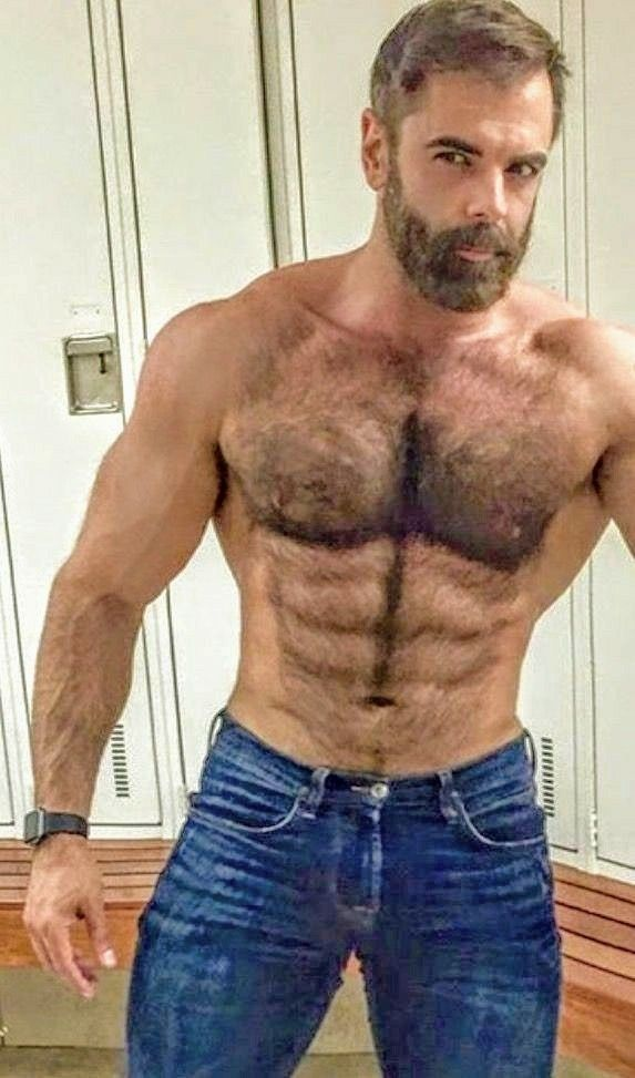 42c7d9960d Pin by Harrison Greene on Bears | Hairy men, Men, Muscular men