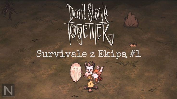 Survivale z Ekipą #1 - Pan Lodu i kociu91 mnie zagłodzili! - DON'T STARVE TOGETHER #neiragra