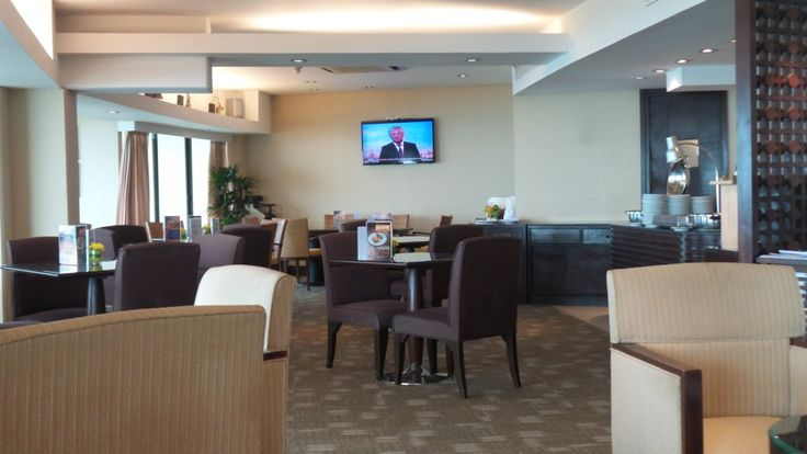 Panorama Lounge at the Hilton Phuket Arcadia Resort & Spa in Karon, Thailand