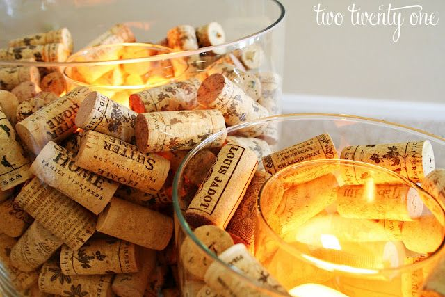 wine cork candle holderWine Corks, Corks Candles, Gift Ideas, Cute Ideas, Candle Holders, Candles Holders, Handmade Gift, Corks Crafts, Center Piece
