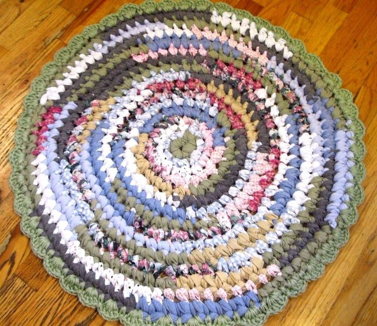 1000 Best Images About Handmade Rag Rugs On Pinterest