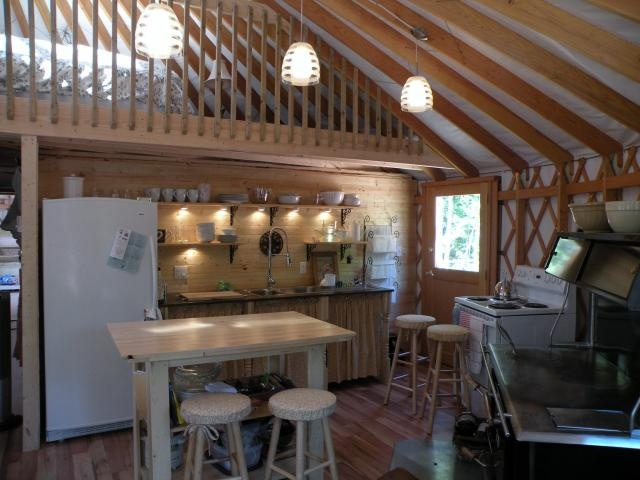 yurt on wooded acres for sale in gorgeous prince edward island