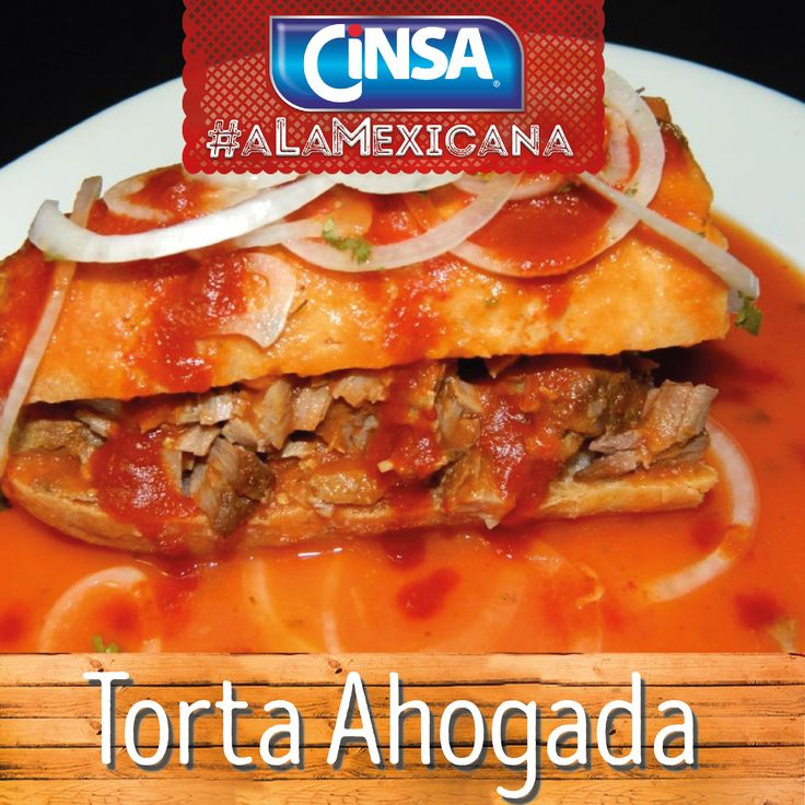 #Cinsa #CinsaALaMexicana #Recetas #Mexicanas #RecetasMexicanas #México #Comida #ComidaMexicana #peltre #MarcasMexicanas #TortaAhogada #Jalisco