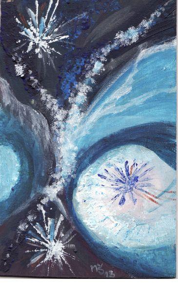 Vesmírné motivy1:akvarel MŠi