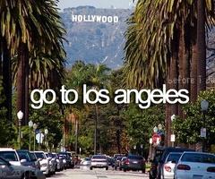 Go to los angeles - before I die, bucket list