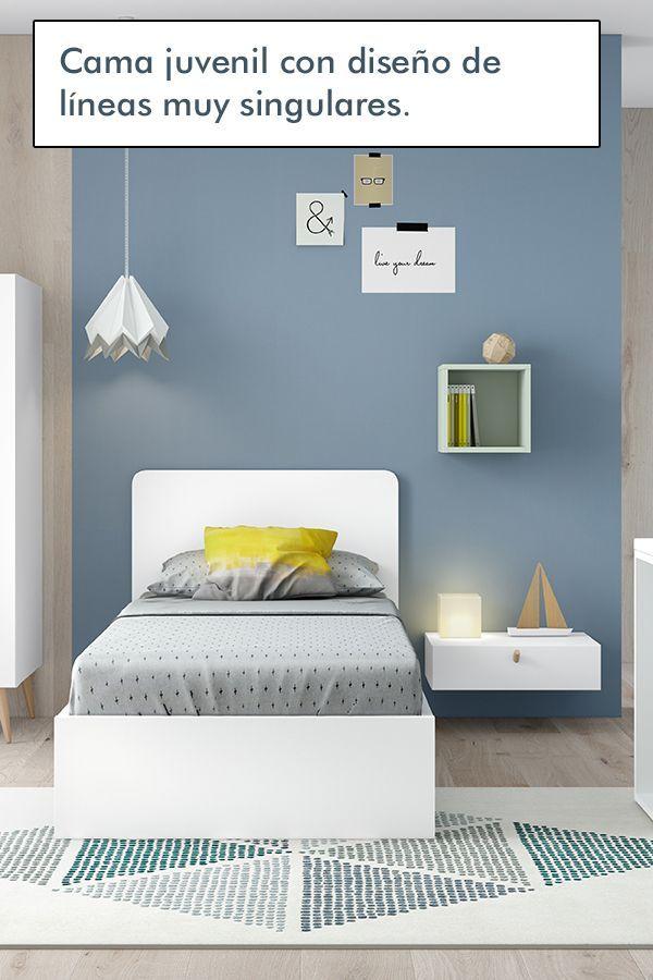 Camas Juveniles Modernas Habitaciones Juveniles Dormitorios Juveniles Decoracion De Habitacion Tumblr