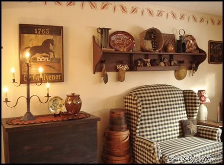 Homespun Living Room Design Ideas 17 Best Images About Primitive Colonial Wall Decor On