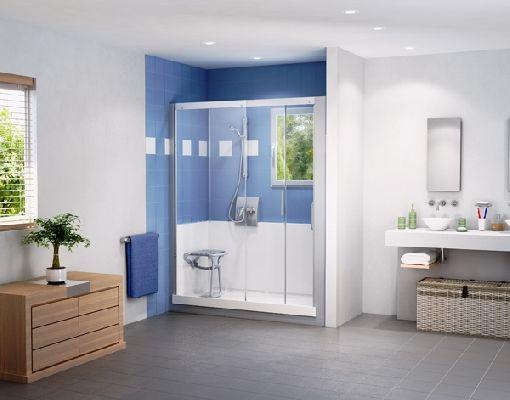Homeplaza - Aus der Badewanne wird an nur einem Tag eine großzügige Dusche - Körperhygiene leicht gemacht