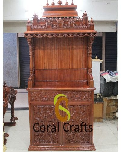 Are you looking to buy designer wooden mandir or temple for your home? We are providing amazing variety of pooja mandir at affordable prices.