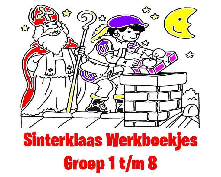 Sinterklaas Werkboekjes
