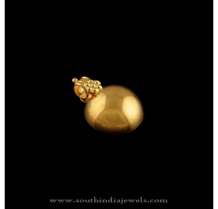 Gold Thali designs, Gold Mango Shaped Thali Designs, Gold Kerala Style Thali Designs.