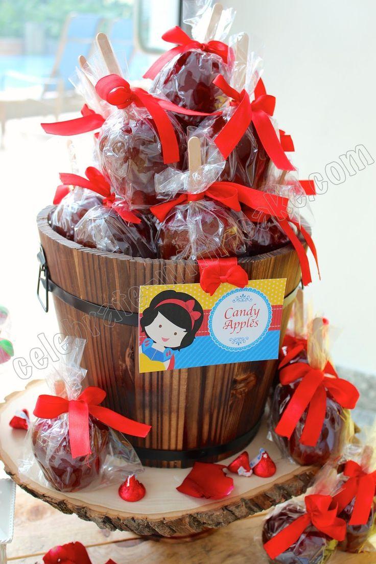 Celebrate with Cake!: Snow White Princess Dessert Table