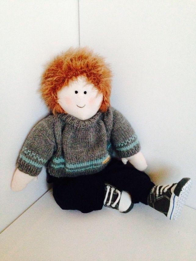 Charlie 54cm rag doll  £29.00