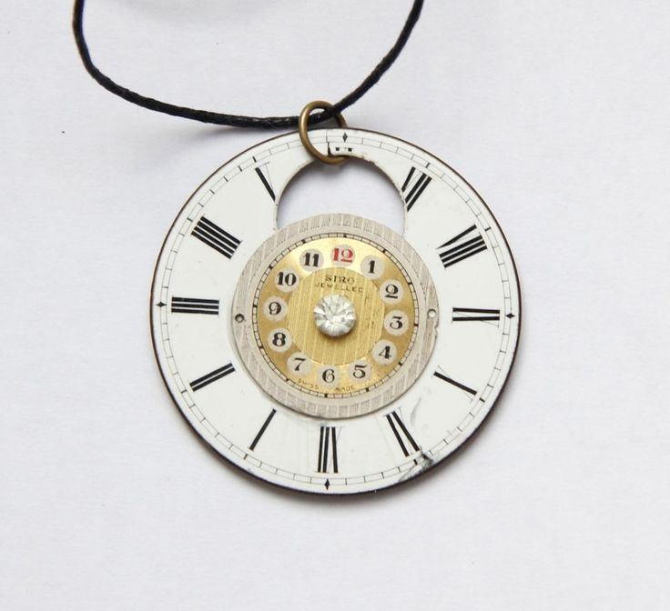 17 best images about my handmade jewellery on pinterest steampunk double vintage watch faces necklace handmade 800 aloadofball Gallery