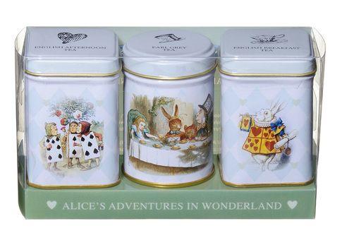 Alice in Wonderland Mini Tin Tea Gift Set
