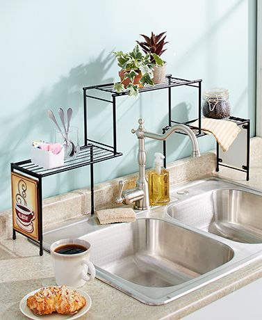 Coordinate your cooking space with the rustic charm of The Country Mason Jar Kitchen Collection. Each piece is unique, useful and looks great on any countertop. The Measuring Cups Set has 4 different size cups that stack together to form a mason jar silh