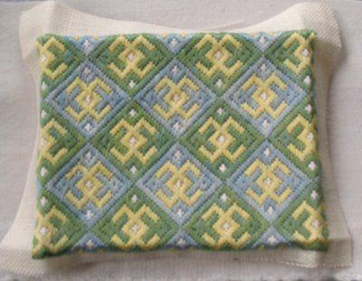 Medieval Arts & Crafts - Brick Stitch pattern, bargello needdlepoint