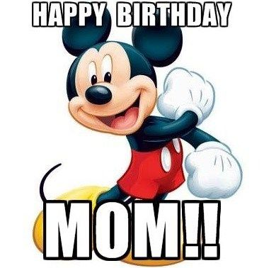 Funny Happy Birthday Meme Mickey