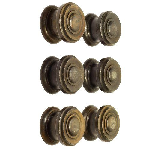 edwardian drawer handles six in the set