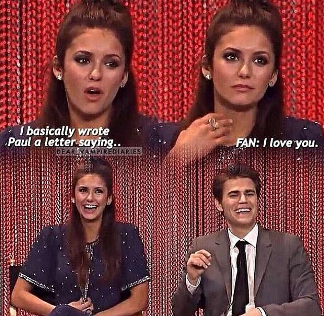 TVD cast! This part was so funny!