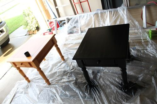 25 best ideas about black spray paint on pinterest. Black Bedroom Furniture Sets. Home Design Ideas
