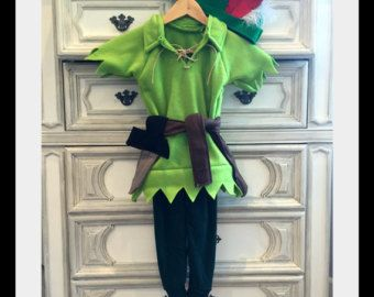 Peter Pan Costume Robin Hood Costume Elf di My3SonsHandCrafted