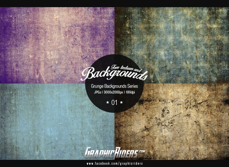 Grunge Backgrounds Series 01 (free grunge backgrounds, textures) #graphicriders